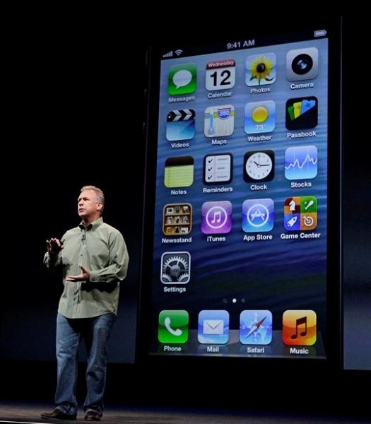 iPhone 5 sekilas mirip generasi sebelumnya, 4S.