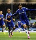 Chelsea Diego Costa selebrasi