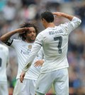 Marcelo dan Ronaldo hormat