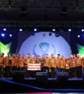 Menpora Imam Nahrawi bersama sejumlah legenda voli Indonesia