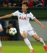 Son Heung Min Totenham Horspurs players