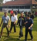Presiden Jokowi kunjungi Pelatnas Berkuda di Cinere