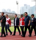 Presiden Jokowi kunjungi GBK