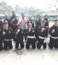 Asdep Tenor bersama tim pencak silat Iran