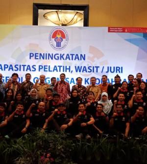Pelatihan pelatih, wasit, juri dan tenaga pengelola keolahragaaan Jawa Barat
