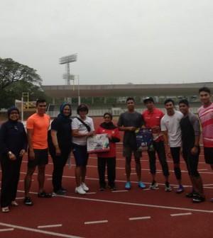 Suryo Agung kunjungi pelanas Atletik