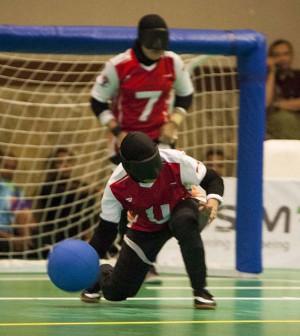 Goalball Asian Para Games 2018