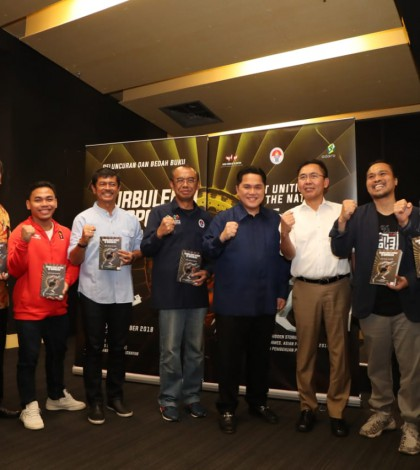 Gatot luncurkan buku Turbulensi Sport Indonesia