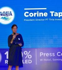 Corine Tap Danone Aqua