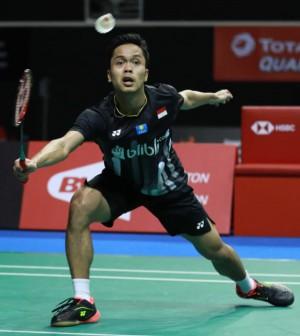 Anthonu Ginting Singapura Open 2019