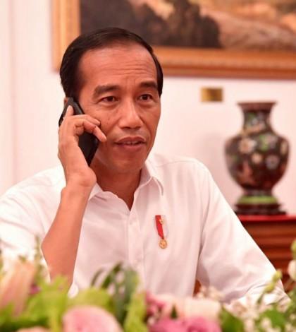 Jokowi telepon
