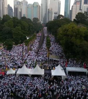 Kamapnye akbar Jokowi GBK