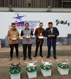 Pembukaan kompetisi SML Drone 2019