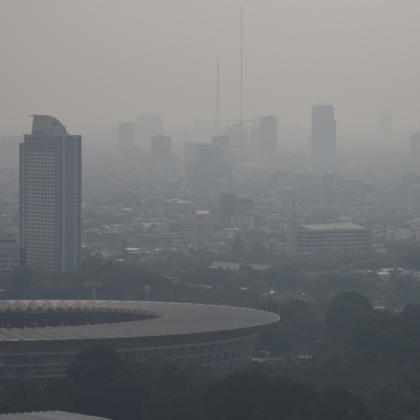Udara asap polusi Jakarta