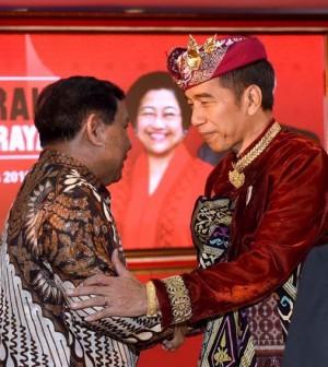 Prabowo Jokowi Bali
