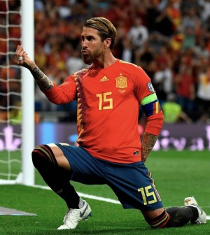 Sergio Ramos Spanyol
