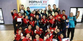 DKI Jakarta butuh tiga hari pelaksanaan untuk memimpin klasemen perolehan medali Pekan Olahraga Pelajar Nasional (Popnas) XV/2019.