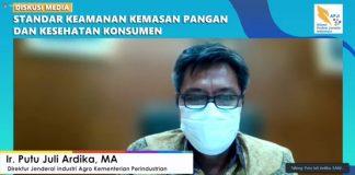 Plt. Direktur Jendral Industri Argo Kementerian Perindustrian, Ir. Putu Juli Ardika MA